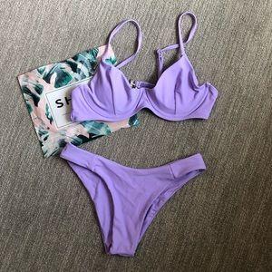 NEW! SHEIN purple bikini